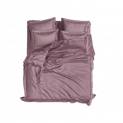 Set Royal Cotton Sateen Plum